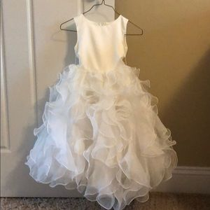 Rosebuds flower girl dress